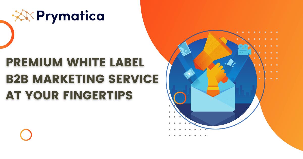 Prymaticas White Label Service - Prymatica